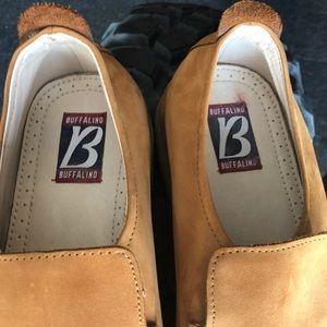 buffalino Shoes - Buffalino sz 11 leather slip on men's shoes